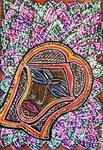 Rostros dibujos modernos arte de Israel Mirit Ben-Nun