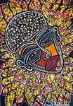 face images paintings modern art israel mirit ben nun