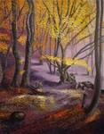 la forêt mystèrieuse