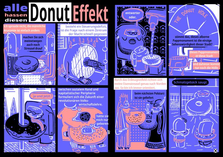 alle hassen diesen Donuteffekt