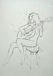 Musizierendes Mädchen