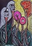 art love israel painting mirit ben nun n modern artist