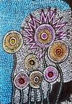 painting israel flowers mirit ben nun modern artist