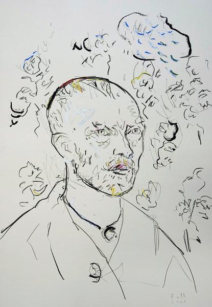 Reminiszenz an Vincent van Gogh II