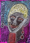 Artists from Israe colorful art jewish painter Mirit Ben-Nun