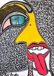 Radical art women paintings and drawings Mirit Ben-Nun
