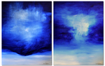 FROM SOURCE TO SEA (diptych)