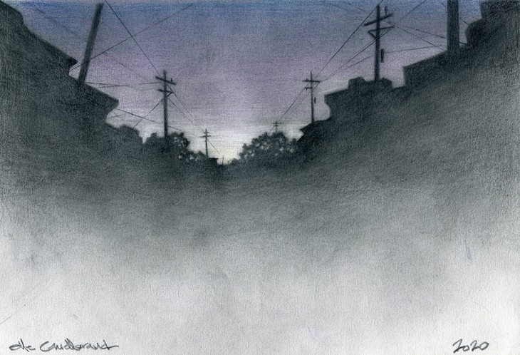 Small Town Silhouette - 01
