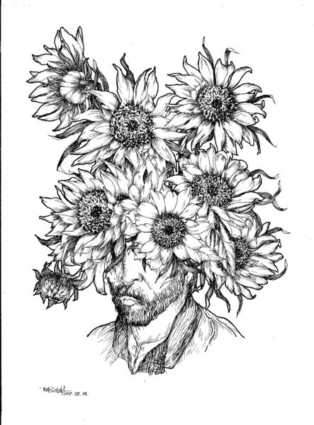 Vincent's sunflower