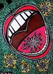 Corona virus drawings and paintings Mirit Ben-Nun