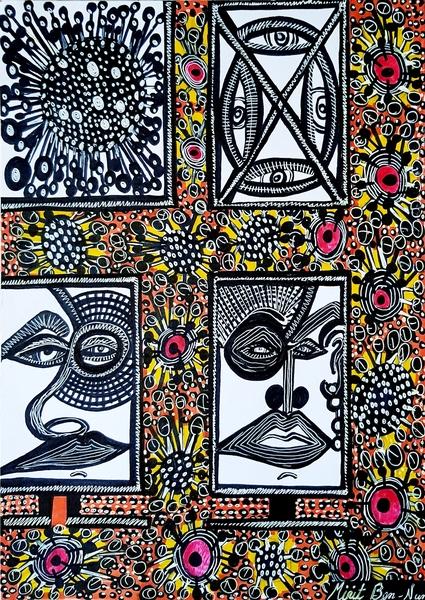 Art in Corona virus era by Mirit Ben-Nun