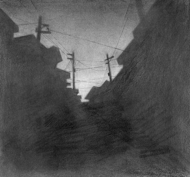 Small Town Silhouette - 02