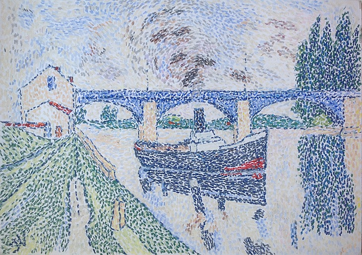 The Seine at Poissy