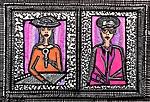 Artist open art studio tours for groups israel Mieit Ben-Nun