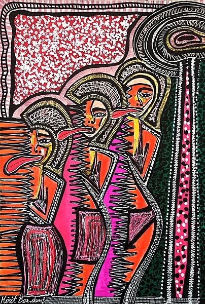 Sesiones de arte para grupos turisticos Mirit Ben-Nun