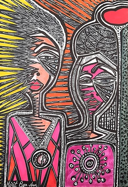 Visitas artisticas en estudio de arte Mirit Ben-Nun