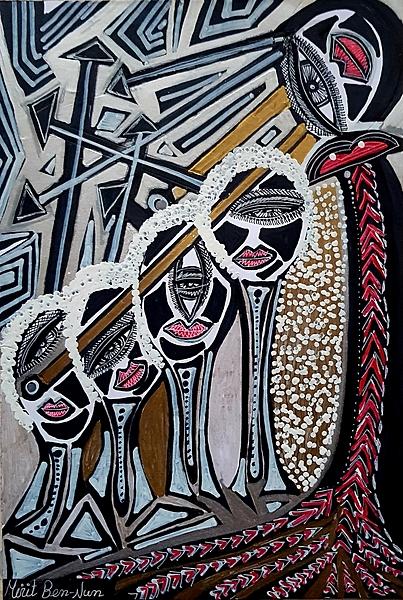 Turismo israel sesiones grupales de arte Mirit Ben-Nun