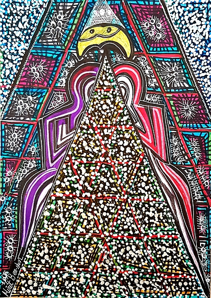 Hosting groups Mirit Ben-Nun contemporary paintings