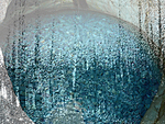 Look through water