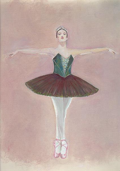 A ballet dancer