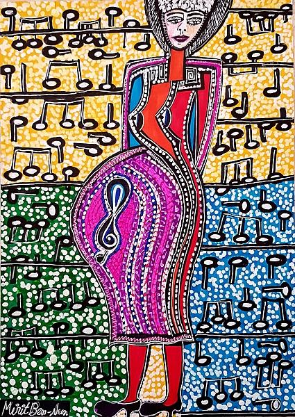 Organized art tours Israel Mirit Ben-Nun modern paintings