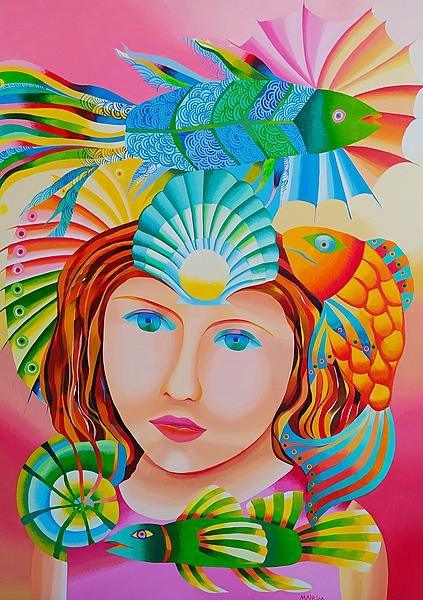 The fisherwoman