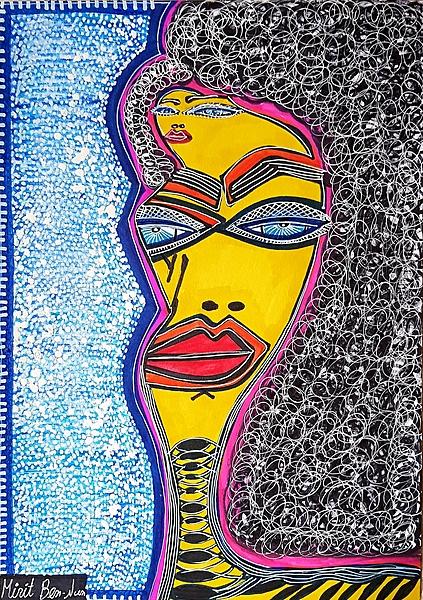 Estudio artistico Israel grupos arte Mirit Ben-Nun pintora