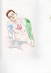 Jerry tatooed