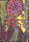 flower apinting israel mirit ben nun artist modern art