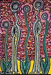 flower apintings israel mirit ben nun artist modern art