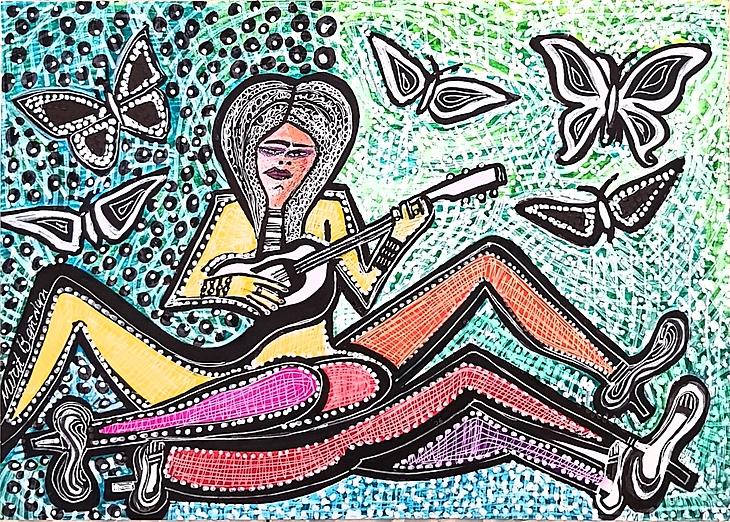 Pintor israel sesiones de arte grupos turisticos Israel