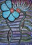 flowers paintings mirit ben nun israel modern art