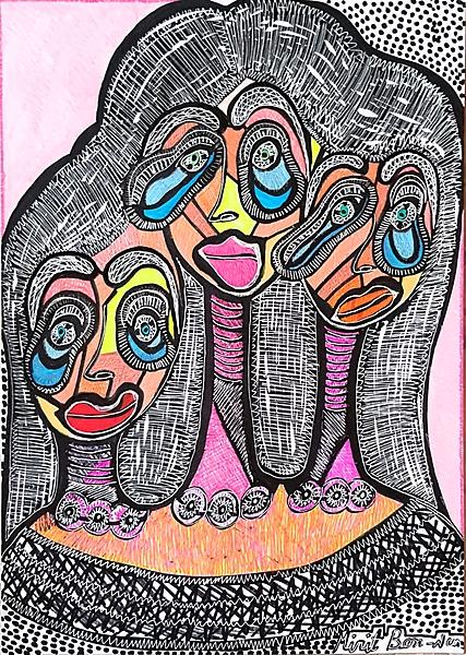 female images mirit ben nun modern art israel
