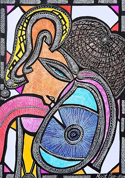 woman art israel mirit ben nun modern artist
