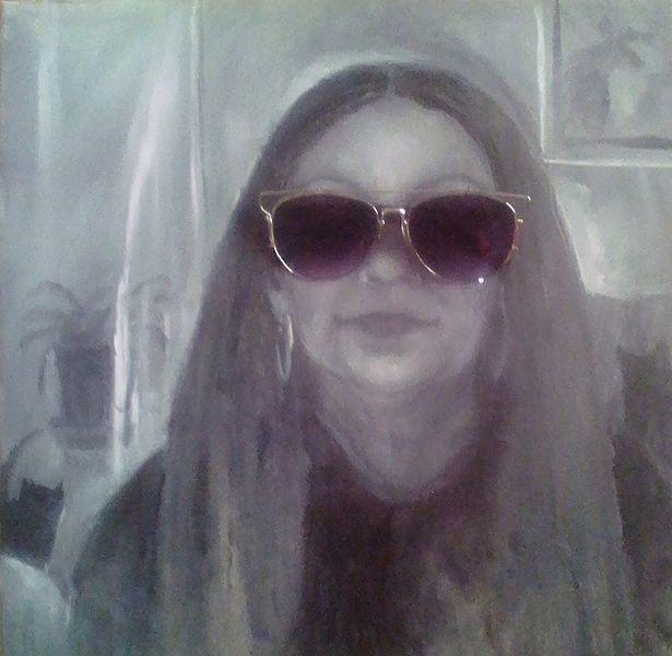 Selbstportrait mit Sonnenbrille