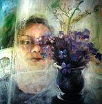 Selbstportrait -Frühling mit C19