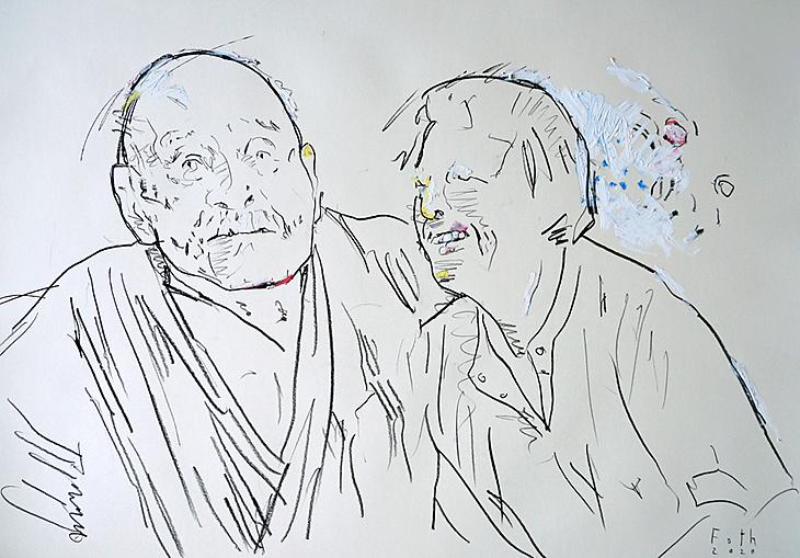 Die Eltern des Künstlers I
