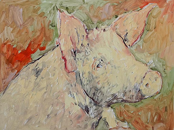 Ein Schwein (Gott Vater, lasst uns sein Heulen und Wehklagen ver