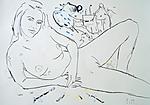 Maler und Modell im Juli VI