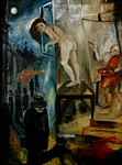 Das Modell und der Maler