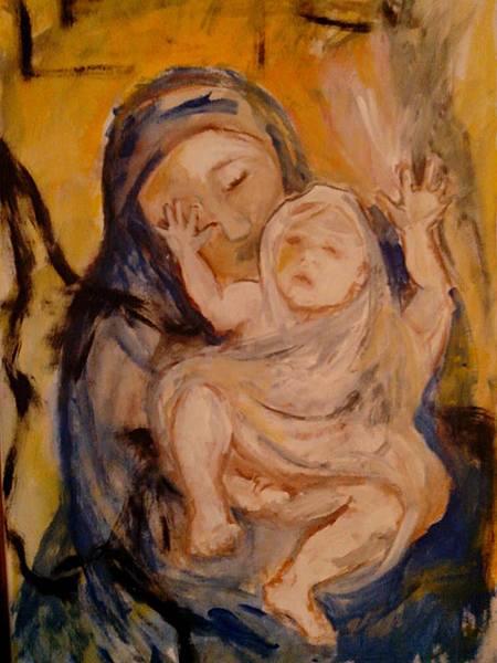 Maria mit Kindl