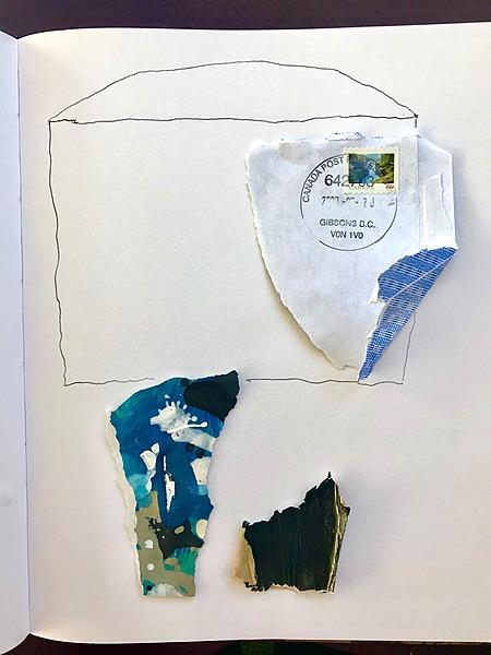 Ian MacLeod: Sketchbook collage