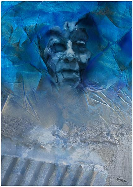 Blue memories - by Ridha H. Ridha