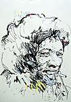 Hendrix, rauchend