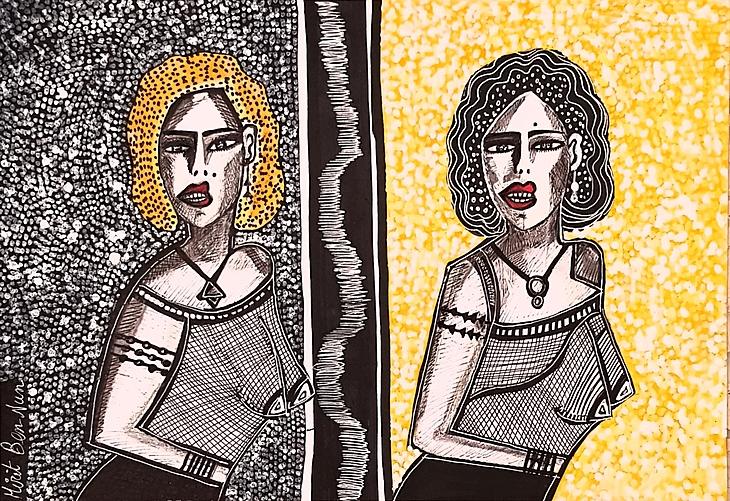 Israeli painters tours for groups Mirit Ben-Nun modern painter