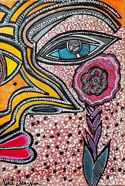 art paintings mirit ben-nun israel