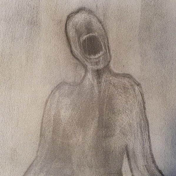 Figure In Pain
