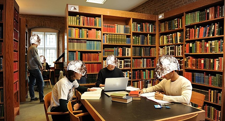 Tin foil hat library