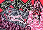 Israeli art tours for groups Mirit Ben-Nun modern painter