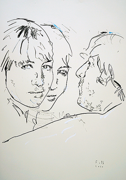 Cynthia mit John Lennon